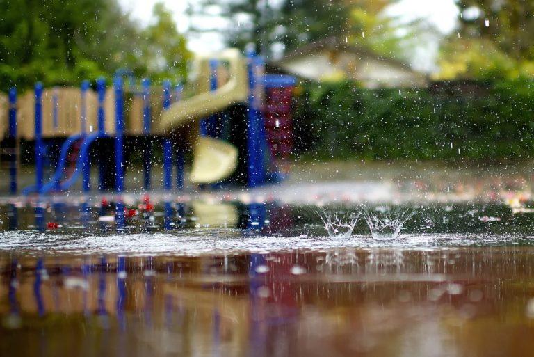 Macro Playground Rain Puddles Wallpaper 2048x1367 768x513