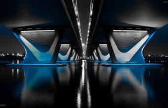 Mid Night Bridge in Water 340x220