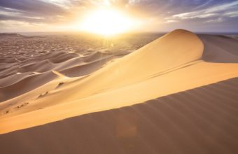 Morocco desert sand dunes sun 340x220