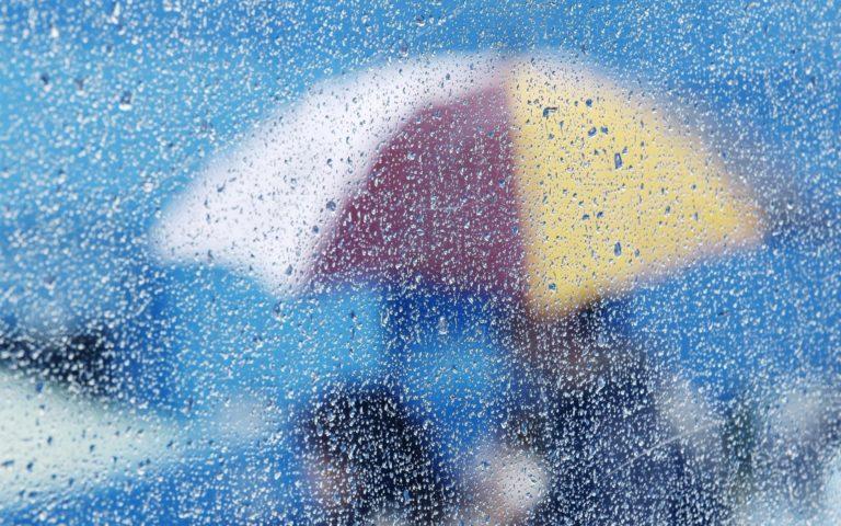 Rain Storm Umbrella Bokeh Mood Wallpaper 1920x1200 768x480