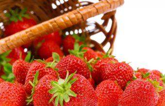 Strawberries Berries Food Red Wallpaper 1920x1080 340x220