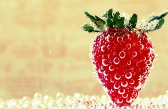 Strawberries Wallpaper 1920x1200 340x220