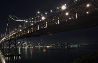 The bay bridge by night 340x220