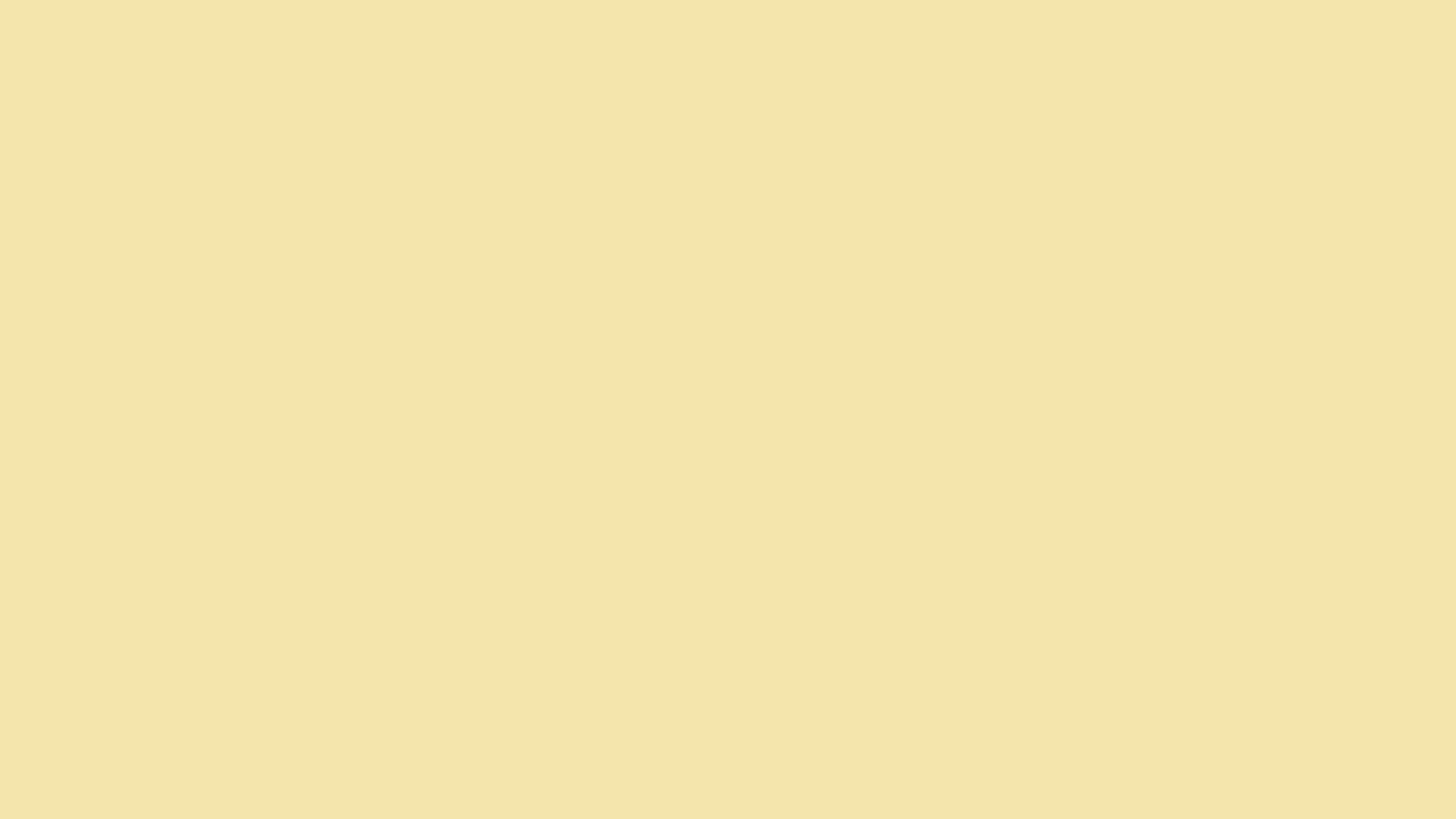 Vanilla Solid Color Background Wallpaper [5120x2880]