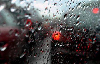 Water Drops Window Macro Rain Glass Wallpaper 2880x1800 340x220