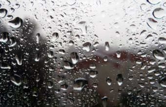 Window Drops Glass Rain Storm Wallpaper 1920x1080 340x220