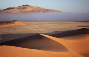 deserts fog bank Namibia sand dunes 340x220