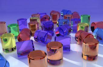 3d Figurines Glass 1920x1200 340x220