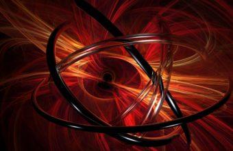Abstraction Spirals Orange 1200x900 340x220