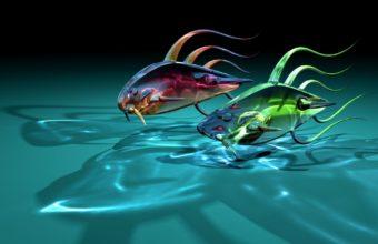 Art Fish Goldfish 1440x900 340x220