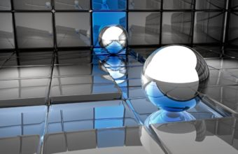 Ball Metal Reflection 1280x1024 340x220