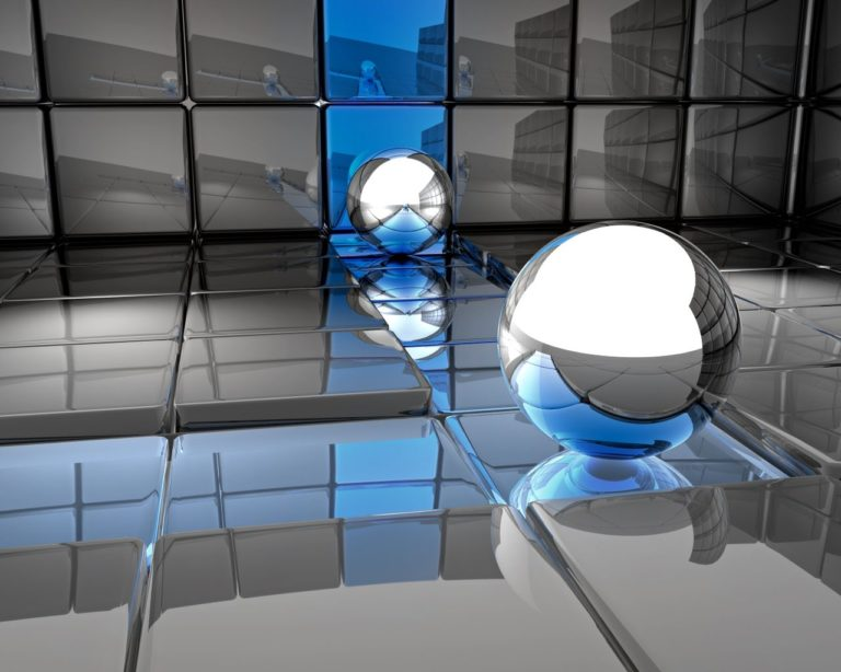 Ball Metal Reflection 1280x1024 768x614