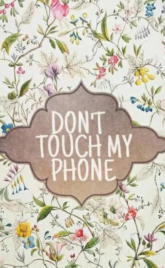 Dont touch My Phone Wallpaper 02 340x550