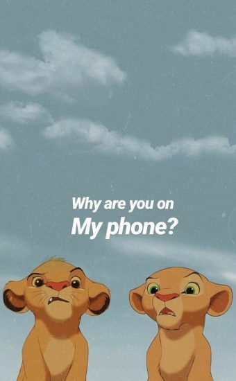 Dont touch My Phone Wallpaper 19 340x550