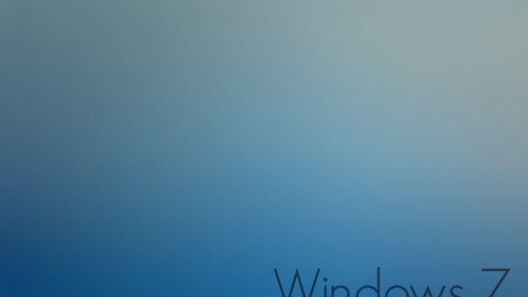 Windows 7 Wallpapers 33 1366 x 768 768x432