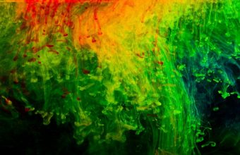Abstraction Red Green Black Texture 2880 X 1800 340x220