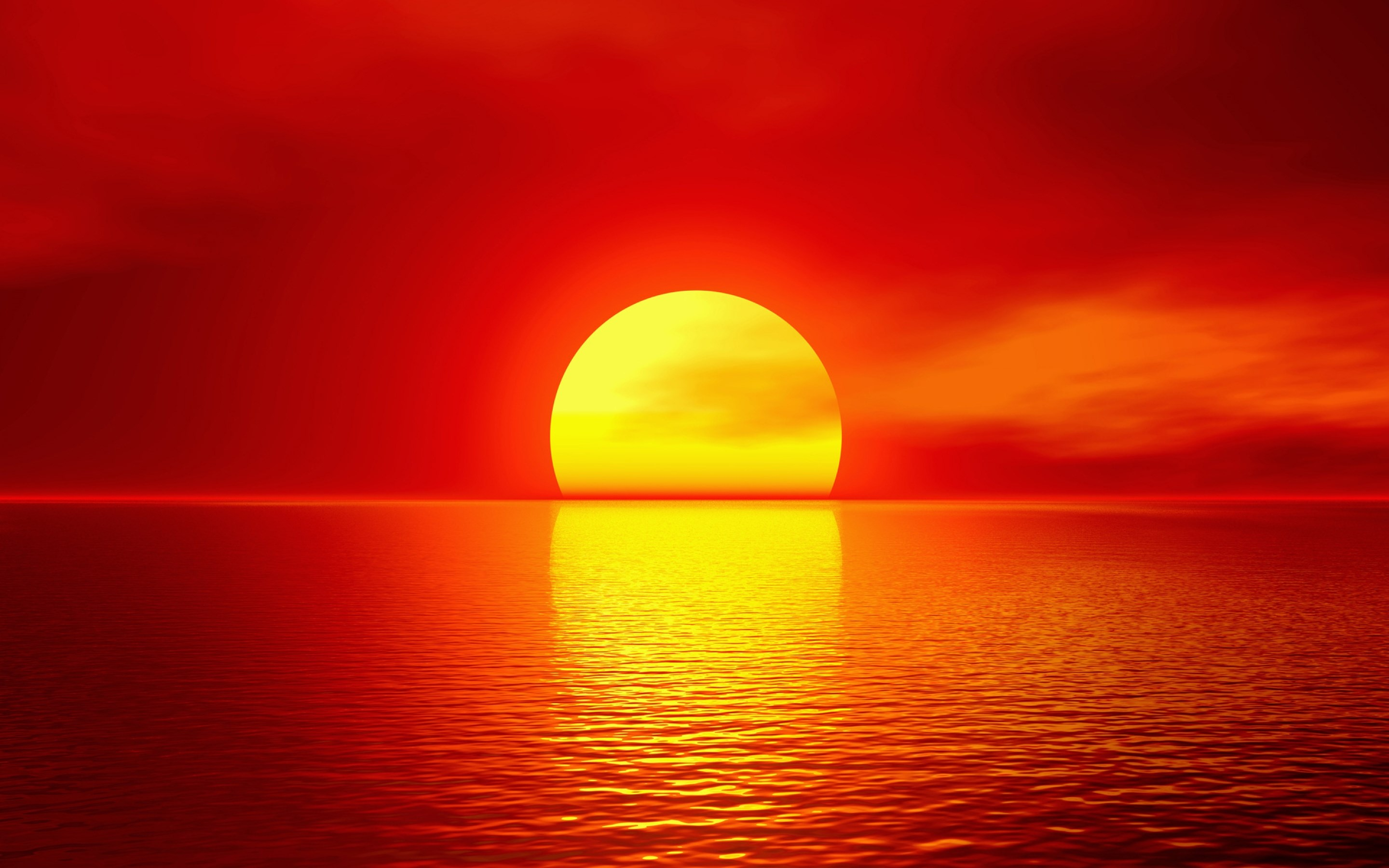 Amazing Summer Sunset Wallpaper