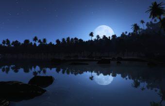 Aqua Blue Night 1920 X 1200 340x220