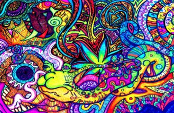 Art Color Marijuana Psychedelic Urban 1900 X 1200 340x220
