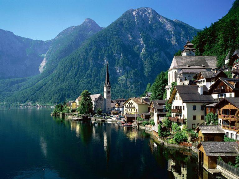 Austria Alp Europe Landscape Lake 4000 x 3000 768x576