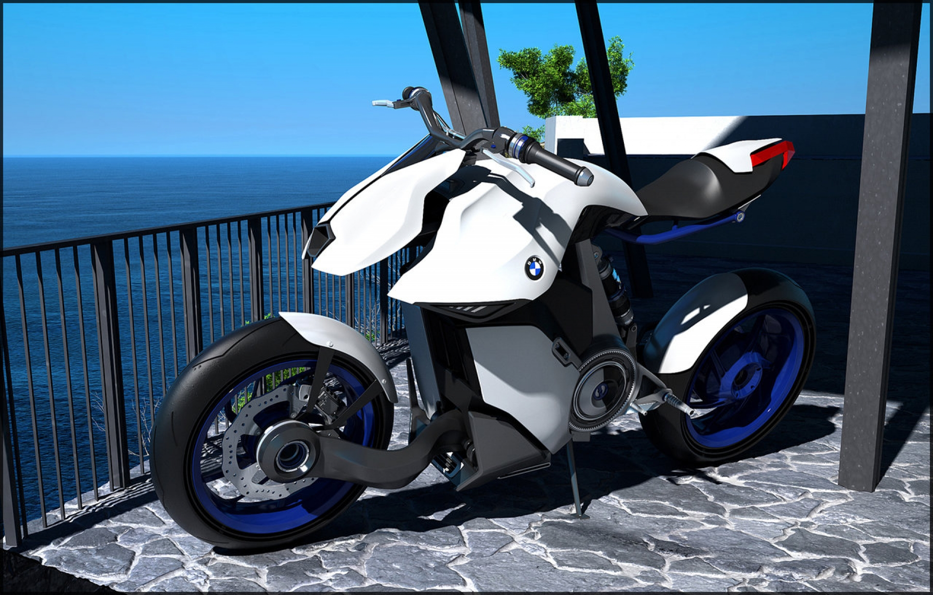 the helmet motorrad future s of bike bmw doesn a next t require ed motorcycle concept