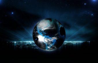 Ball Globe Planet 1440 X 900 340x220