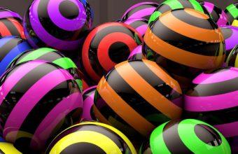 Balloons Striped Bright 1440 X 810 340x220