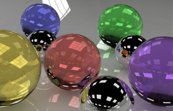 Balls Glass Colored 1440 X 810 340x220