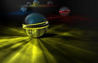 Balls Lights Colorful 1440 X 900 340x220