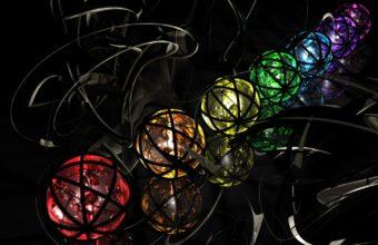 Balls Multicolored Metal 1440 X 900 340x220
