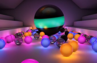 Balls Size Background 2560 X 1440 340x220