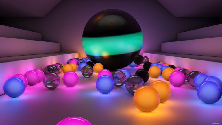 Balls Size Background 2560 X 1440 768x432