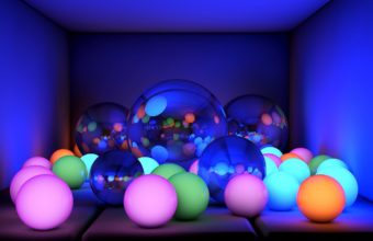 Balls Size Neon 1440 X 810 340x220
