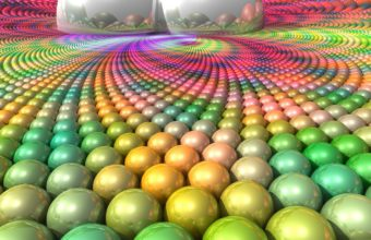 Balls Surface Multi Colored 1440 X 900 340x220