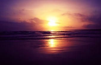 Beach Sunset 2560 x 1600 340x220