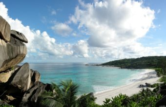 Beautiful Beach With Rocks 1920 x 1200 340x220