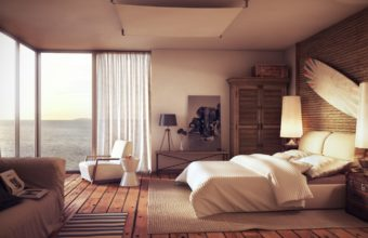 Beautiful Bedroom Wallpapers 05 1600 x 900 340x220