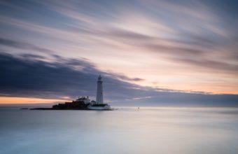 Beautiful Lighthouse On The Horizon 1920 x 1200 340x220