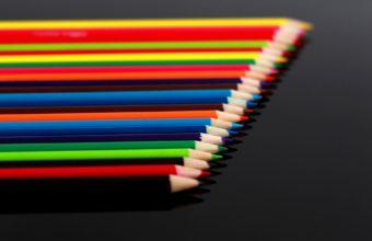 Bokeh Color Pencil Abstract Macro 1920 X 1200 340x220