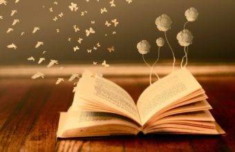 Bokeh Mood Books Read Pages Flowers 1920 X 1200 340x220
