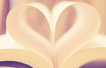 Book Page Love Heart Facebook Cover 851 x 315 340x220