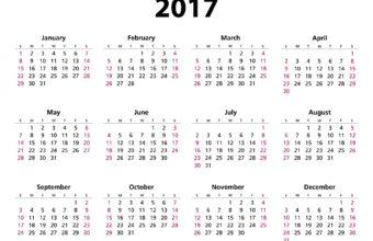Calender 2017 06 1920 x 1440 340x220