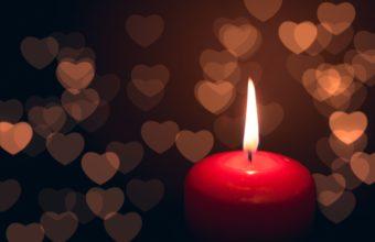 Candle Heart Dark 3831 x 2554 340x220