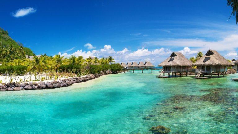 Caribbean Sea Sky Bungalows 2560 x 1440 768x432
