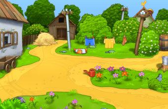 Cartoon Background 2560 x 1600 340x220
