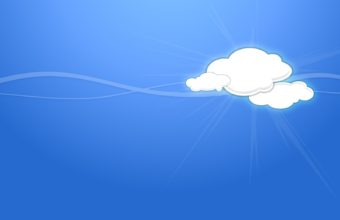 Cartoon Simple Sky Cloud 1600 x 1200 340x220