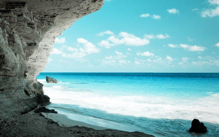 Cave Seas Rocks Skyscapes 1920 x 1200 768x480