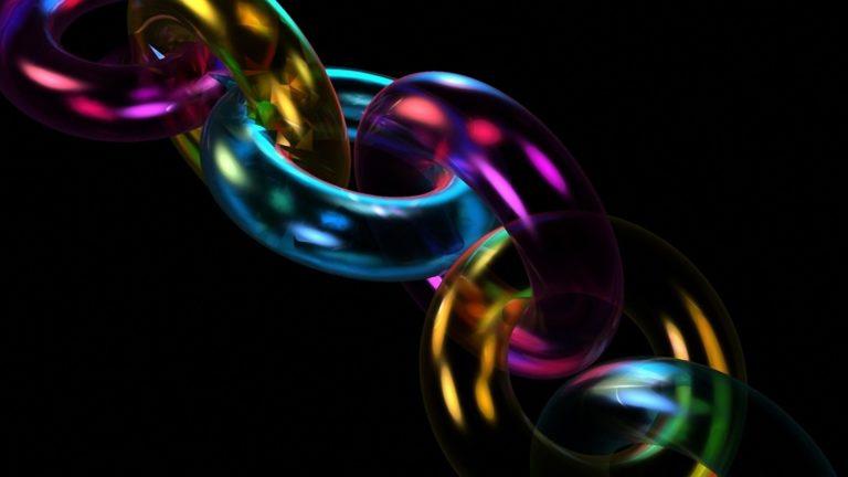 Chain Form Multicolored 1920 X 1080 768x432