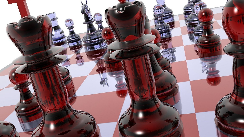 Huawei Chess Wallpaper: Chess Black Board