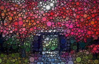 Circles Colorful Texture 1920 x 1080 340x220